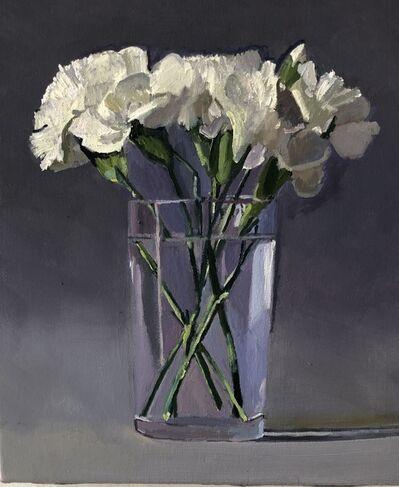 Dan McCleary, 'White Carnations', 2020