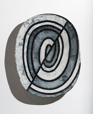 Jun Kaneko, 'Wall Slab 93-01-31', 1992