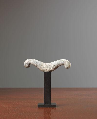 Unknown Indian, 'A Mughal chicken-bone jade crutch handle', 17th/18th century