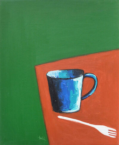 Isshaq Ismail, 'Cup and Fork', 2018