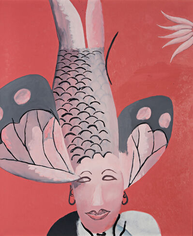 Li Shan  李珊 (b. 1957), 'Fish as Man (Rouge Series)', 1995
