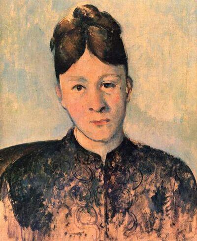 Paul Cézanne, 'Portriat of Madame Cézanne', 1885
