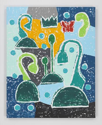 Olaf Breuning, 'Sad Flowers', 2020