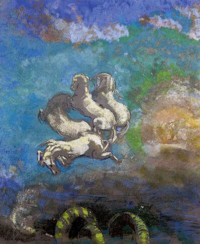 Odilon Redon, 'Le Char d'Apollon (Chariot of Apollo)', ca. 1910