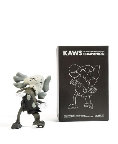 KAWS, 'Set of 3 Companion (Grey, Black, Brown)', 2010