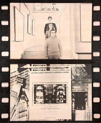 Aldo Tagliaferro, 'Verifica di una mostra, (particolare n. 37)', 1970