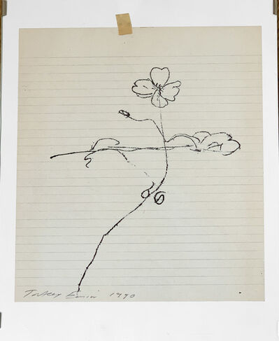 Tracey Emin, 'Untitled Monotype (Flower)', 1990