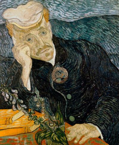 Vincent van Gogh, 'Portrait of Doctor Gachet 1890', 21st Century