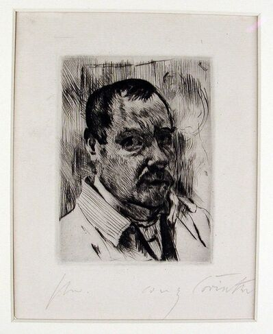 Lovis Corinth, 'Self Portrait', 1912