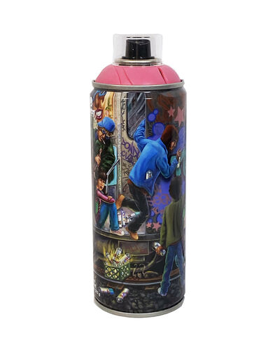 LADY PINK, ''Teamwork' Collectible Spray Can', 2019