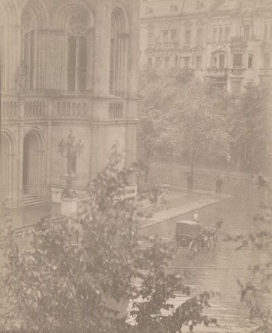 Alfred Stieglitz, 'Snapshot - From My Window, Berlin', circa 1907