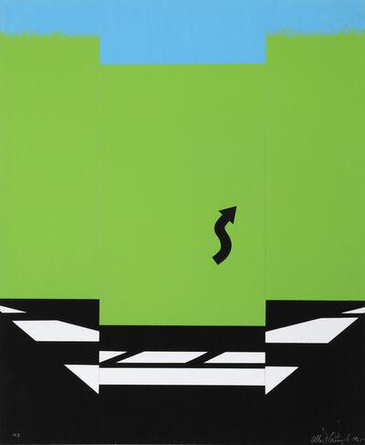 Allan D'Arcangelo, 'Landscape I ', 1965
