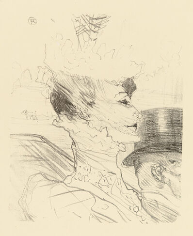 Henri de Toulouse-Lautrec, 'LOUISE BALTHY', 1989