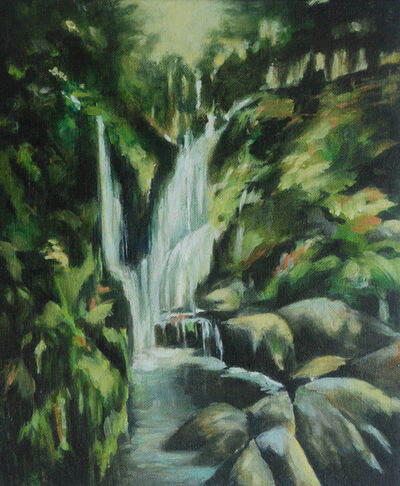Annette Pugh, 'Waterfall (Early Evening)', 2019