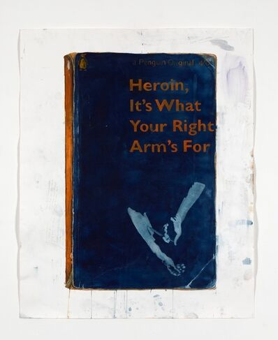 Harland Miller, 'Heroin, It's What Your Right Arm's For ', 2012