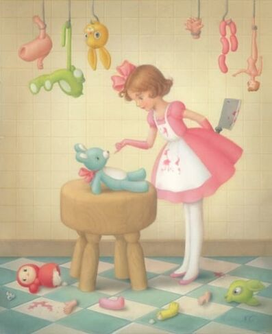Nicoletta Ceccoli, 'Tricks and Tickles', 2020