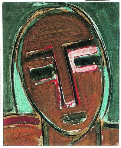 Wifredo Lam, 'Self-Portrait, III  ', 1938