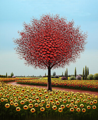Mario Jung, 'Sun Flowering', 2019