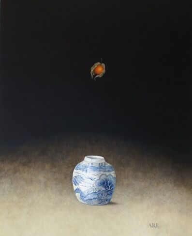 Alison Rankin, 'Blue and White Jar with Falling Physalis', 2019
