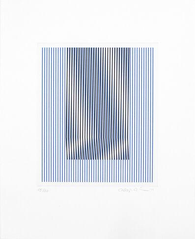 Carlos Cruz-Diez, 'Induction du Jaune St. Alban 1', 2015