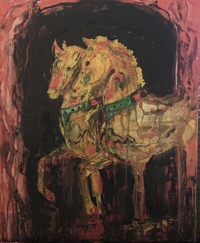 Ana Porta, 'Byzantine horses', 2019