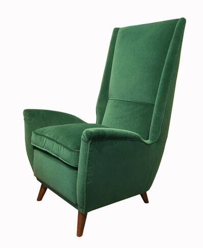 Gio Ponti, 'Set of four armchairs', ca. 1950