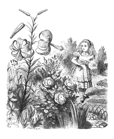 Sir John Tenniel, 'O Tiger-lily ...', 1988