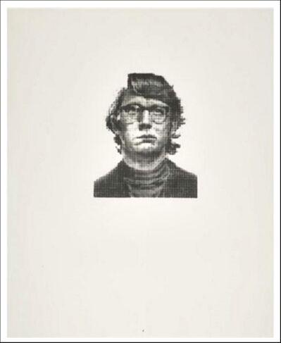 Chuck Close, 'Keith  (III/I)', 1974