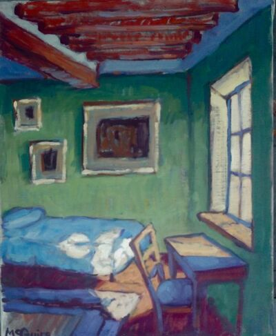Tim McGuire, 'Green Room', 2019