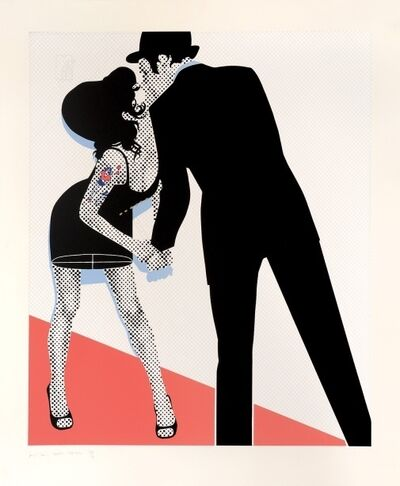 Gerald Laing, 'The Kiss', 2007