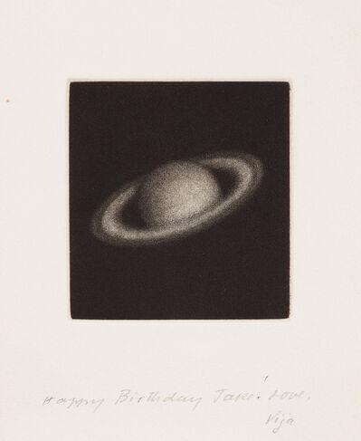 Vija Celmins, 'Untitled (Saturn) (see R. 23)', 1985