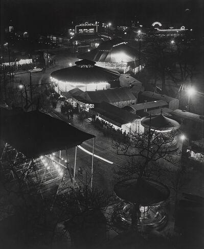 Brassaï, 'La fête foraine, place d'Italie (The Fun Fair, Place d'Italie)', 1931