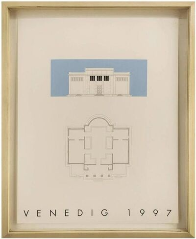 Gerhard Merz, 'VENEDIG 1997, Silkscreen Print, 2 of 3 from the 'Sequences' Series', Late 20th Century