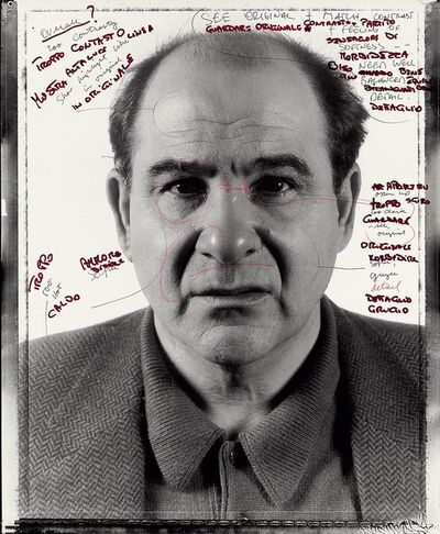 Chuck Close, 'Proof print for Joel', 1991