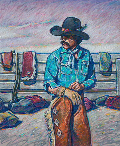Howard Post, 'Untitled (Cowboy in Thought)', 20th/21st Century