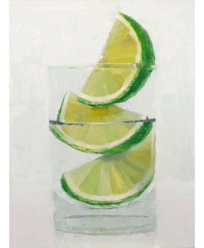 Tom Giesler, 'Floral 60: lime', 2021