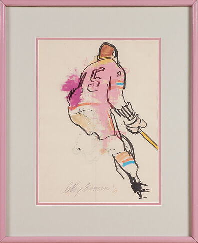 LeRoy Neiman, 'Untitled (Jim Neilson, Defenseman, Ny Rangers)', 1964