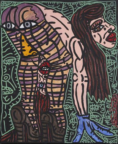 Robert Combas, 'Femme penchée', ca. 1995
