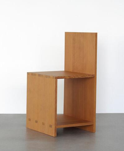 Donald Judd, 'Chair', 1984