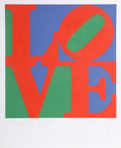 Robert Indiana, 'Philadelphia LOVE Proof', 1997