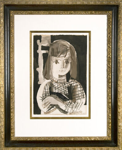 Françoise Gilot, 'Paloma ecolière', 1960