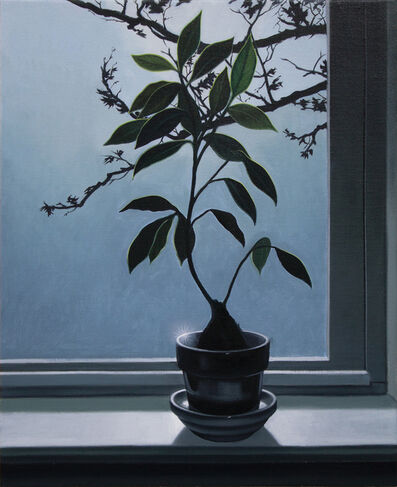 Paul Rouphail, 'Potted Plant in a Window (After Horace Pippen)', 2020