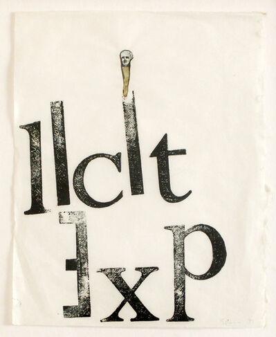 Nancy Spero, 'Licit Exp', 1974
