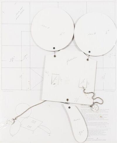 "Claes Oldenburg, 'Geometric Mouse, Scale D ""Home Made"" (Axsom / Platzker 73', 1971"