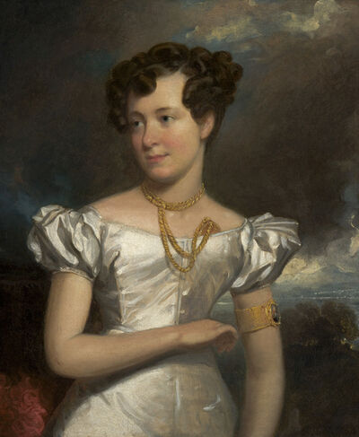 Henry Inman, 'Portrait of Clara Fisher', 1828