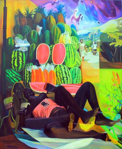 Henry Mzili Mujunga, 'Fruit Market', 2019
