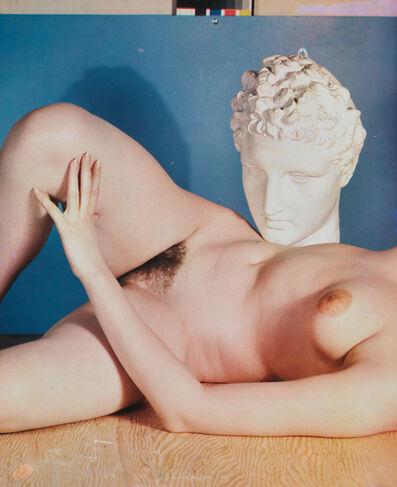 Paul Outerbridge, 'Nude with Head Sculpture', 1937