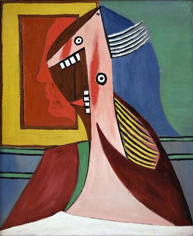 Pablo Picasso, 'Buste de femme avec autoportrait'