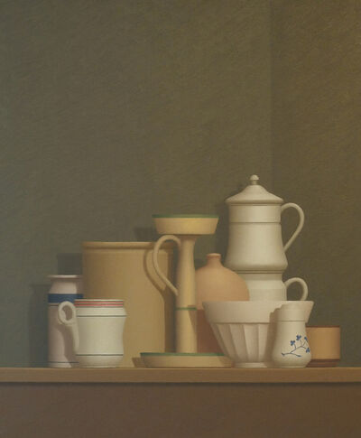 William Bailey, 'Still Life at Trovi', 1982