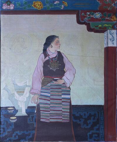 Tsering Drolma 次仁卓玛, 'Portrait 1《肖像 1》', 1984